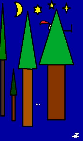 Robin des Bois dans Paint ROBIN-DES-BOIS